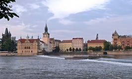 View on Prague stock photo
