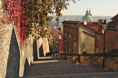 View of Prague Royalty Free Stock Photos