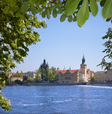 View on Prague. Royalty Free Stock Image