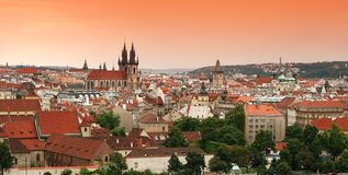 View on the Prague Stock Images