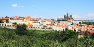 View on Prague stock images