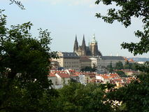 Prague Castle. View of the Prague castle Stock Images