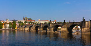 View on the Prague Castle Stock Photos