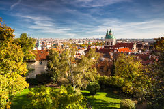 View from Prague Castle Stock Photo