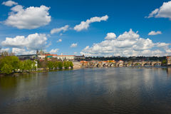 View at Prague castle Royalty Free Stock Image