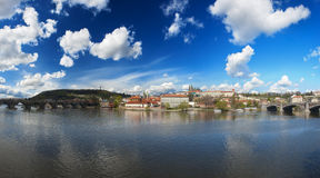 View at Prague castle Royalty Free Stock Photos