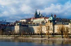 View on Prague Castle. Czech Republic Royalty Free Stock Images