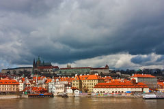 View of Prague Castle Stock Photography