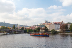 View of Prague Castle. Stock Photos