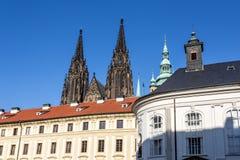 View of Prague castle Stock Photos