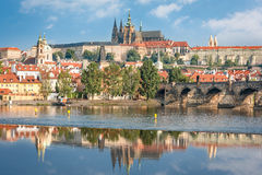 View of Prague castle Stock Image