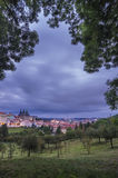 View of the Prague Castle Royalty Free Stock Photography