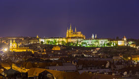 View of Prague Castle (Prazsky hrad) Stock Photos