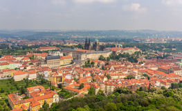 View of Prague Castle (Prazsky hrad) Stock Image