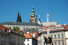 View of Prague Castle Royalty Free Stock Photography