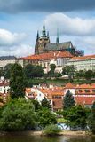 View of Prague castle Stock Images