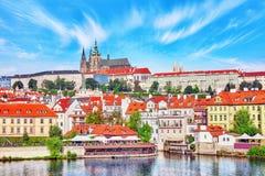 View of Prague Castle Royalty Free Stock Photos