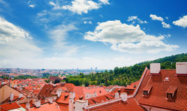 View of Prague city Royalty Free Stock Photo