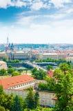 View of Prague city Royalty Free Stock Image