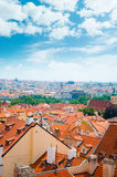 View of Prague city Stock Photography