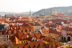 View on Prague city Royalty Free Stock Image