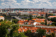 View of Prague, Czech Republic Royalty Free Stock Photos