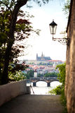 View of the Prague, Czech Republic Royalty Free Stock Photo