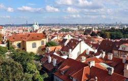 View of Prague, Czech republic, Europe Stock Photo