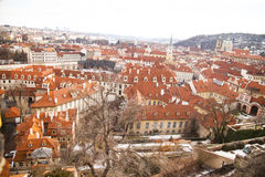 A view of Prague Czech Republic, Royalty Free Stock Images