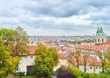 View of Prague, Czech Republic royalty free stock image