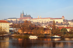 View of Prague, Czechia Royalty Free Stock Photos