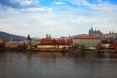 View of Prague, Czechia Royalty Free Stock Images