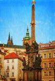 View on the  Prague gothic Castle, Czech Republic Stock Photos