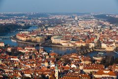 View of Prague Royalty Free Stock Photo