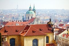 View of Prague from Hradcany Royalty Free Stock Photos