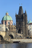 View on Prague Old Town, Czech Republic Royalty Free Stock Images