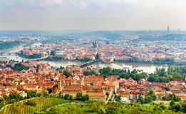 View of the Prague Old Town Stock Image