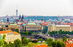 View of the Prague Old Town Royalty Free Stock Photography