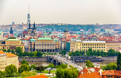 View of the Prague Old Town Royalty Free Stock Image