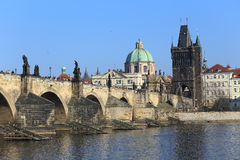 View on Prague Old Town, Czech Republic Stock Images