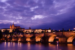 View on Prague's castle Royalty Free Stock Photography