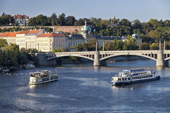 The View on Prague's Office of Goverments Royalty Free Stock Photography