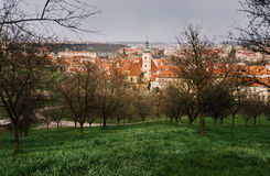The View on the Prague's old town Royalty Free Stock Photography