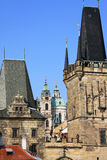 View on Prague's St. Nicholas' Cathedral Stock Photos