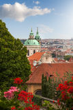 View of Prague in summer Royalty Free Stock Image