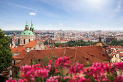 View of Prague in summer Royalty Free Stock Photography