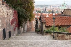 View of Prague from the top Royalty Free Stock Image