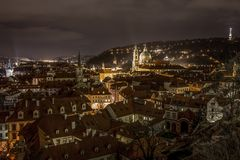 View of prague from the top Royalty Free Stock Photo