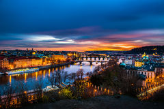 View of Prague Royalty Free Stock Images