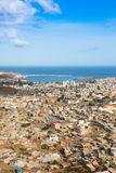View of Praia city in Santiago - Capital of Cape Verde Islands - Royalty Free Stock Photo